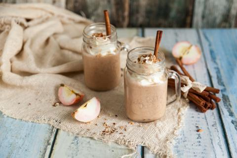 Apple Crisp Fall Smoothie Recipe
