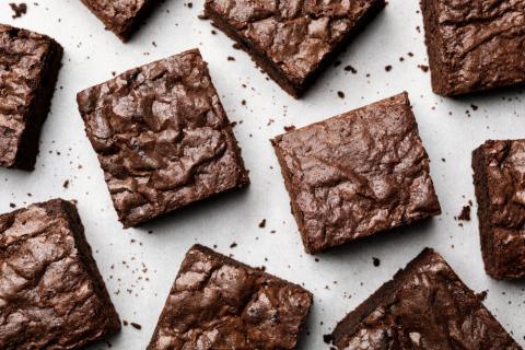Delicous Fudge Brownie Squares