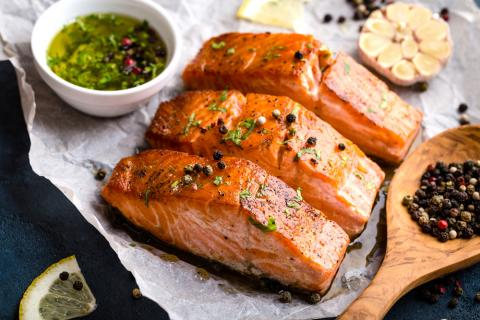 BBQ Salmon Bowl Recipe