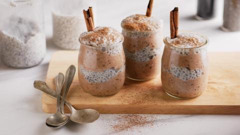 Horchata Chia Pudding Recipe