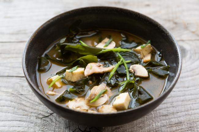 Mushroom Miso Soup Recipe