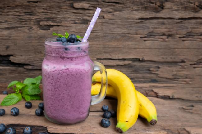 Berry Banana Recovery Protein Shake