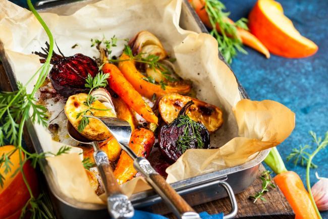 Fall Harvest Veggie Bake recipe