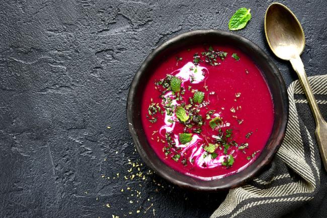 Winter Beet Soup recipe