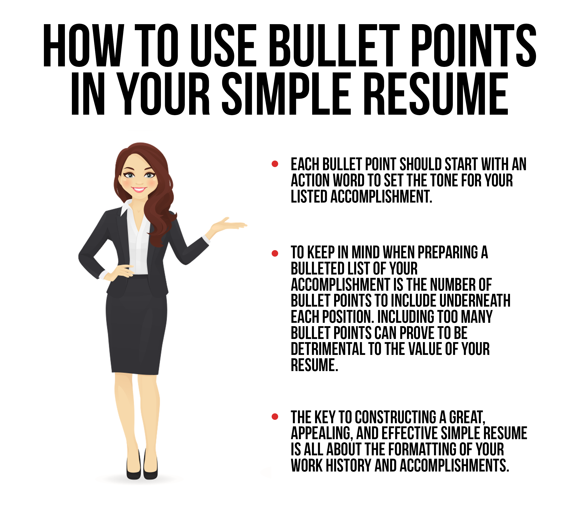 bullet points archives - simple resume by employment boost