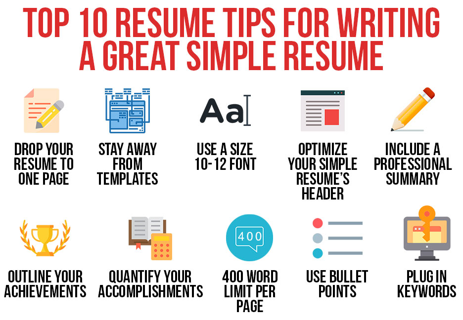 https://s3.amazonaws.com/jmjcdn/wp-content/uploads/2018/12/07150000/Top-10-Resume-Tips-for-Writing-a-Great-Simple-Resume.jpg