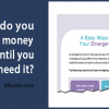 Easy Ways to Build Fund title by JM Lesko