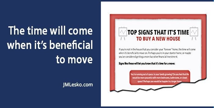 financial guide graphic for What Are the Signs for a New House Purchase by j m lesko
