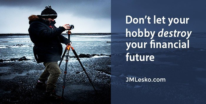 photographer taking pictures in an arctic surroundings picture of article Avoid These 5 Ways Hobbies Destroy Finances