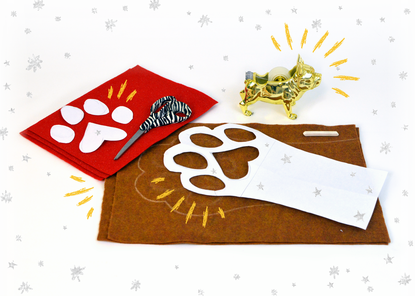 DIY a Paw Stocking Stuffed with Pup-Peroni®