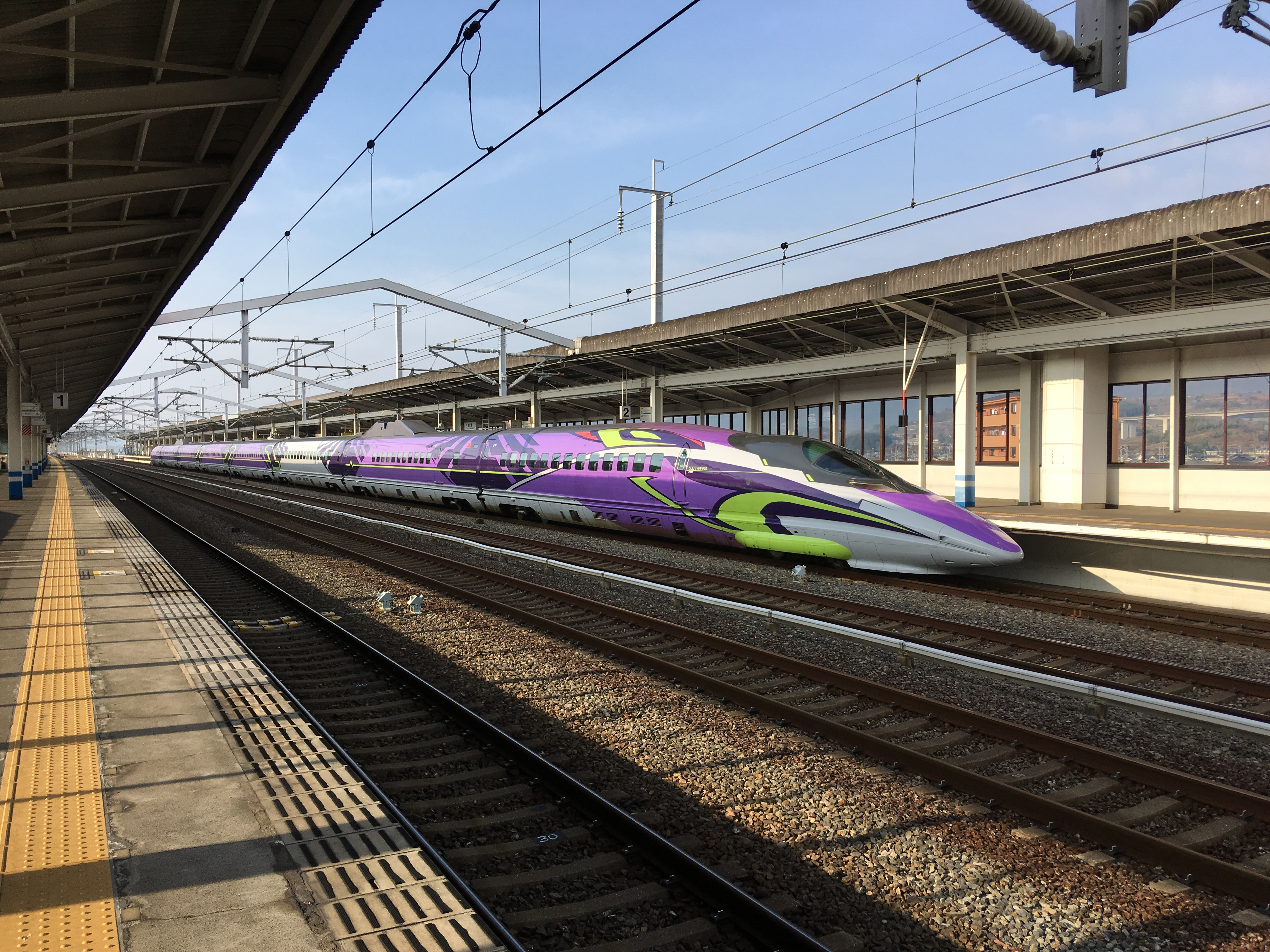 5202811bf JR West announces end of 500 EVA Shinkansen on 13 May 2018 - Japan ...