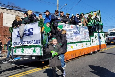 Island Auto Group participated in the 56th annual Richmond County St. Patrick's Day Parade.