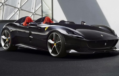 The 1950s look inspired Monza SP1 and SP2.
