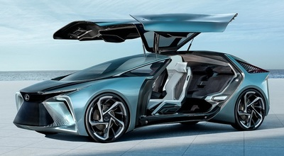 The Lexus LF-30 Electrified concept vehicle.