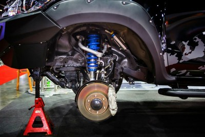 Ball joints, shocks, struts or tie-rod ends, and bushings need to be inspected regularly.