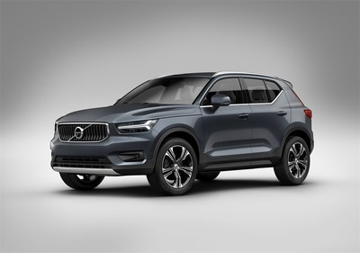 The XC40's Scandinavian design features an upright style and Volvo offers two custom trim levels.
