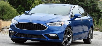 Drivers can choose their fuel source with the Ford Fusion -- EV Now and EV Later.