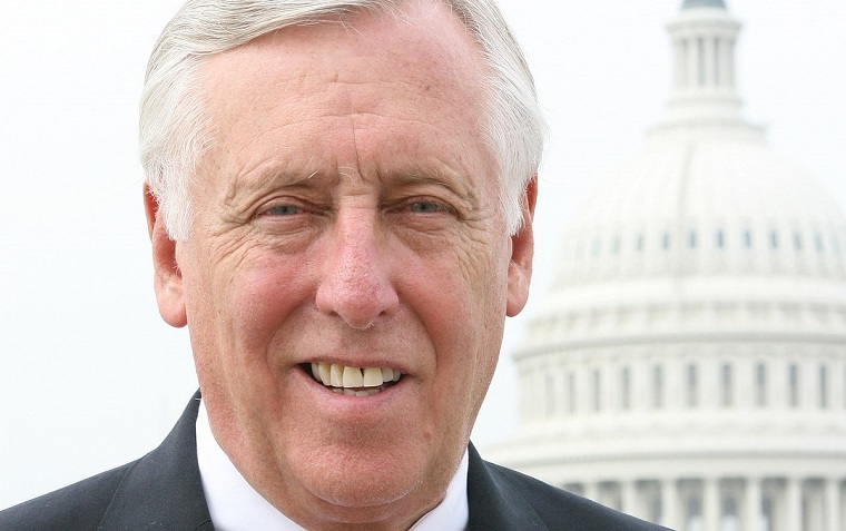 Rep. Steny Hoyer said he was inspired by students across the country who walked out of schools.