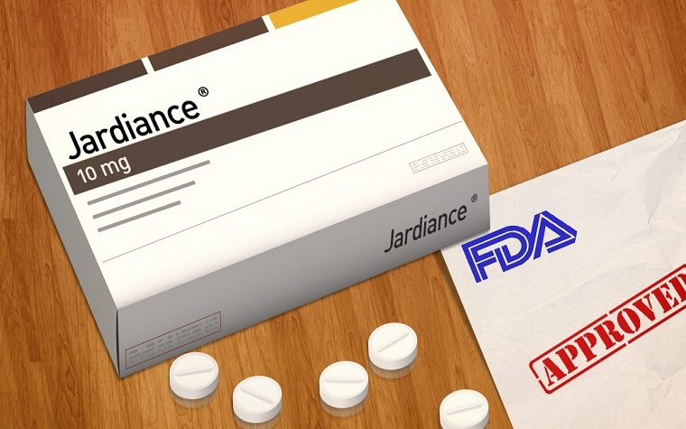 Jardiance shown to reduce risk of heart failure in patients with type two diabetes.