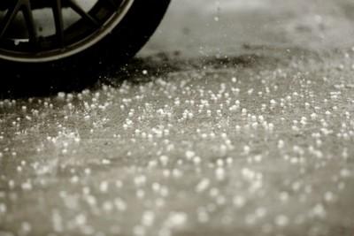 The advantage of salt is that it helps melt snow.