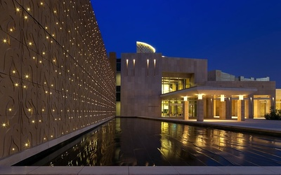 Qatar Foundation holds architecture conference highlighting Doha's Education City.