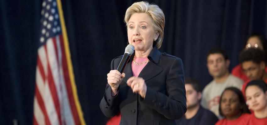 Fmr. Secretary of State Hillary Clinton