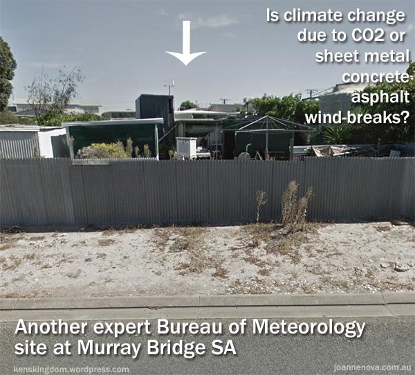 Bureau of Meteorology, South Australia, Murray Bridge, Urban Heat Island, ACORN.