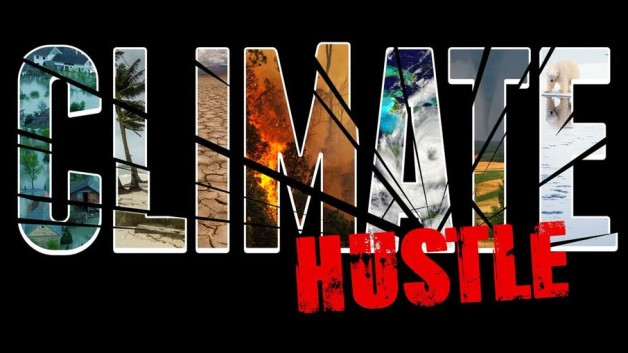 Climate Hustle, Documentary, Logo.