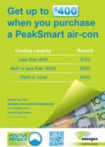 Peaksmart air conditioning.
