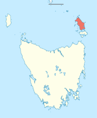 Flinders Island, Tasmania, Map, renewables.