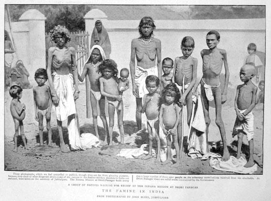 Famine, India, 1896.