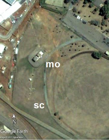 Canberra airport, temperature sensor. BoM.