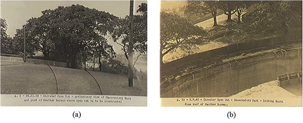 Sydney Observatory, Historical photo. Thermometer, Urban Heath Island Effect