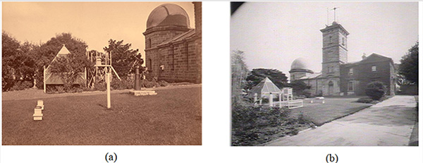 Sydney Observatory, Historical photo. Thermometer, Urban Heath Island Effec t