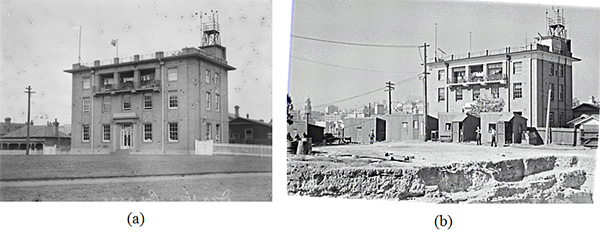 Sydney Observatory, Historical photo. Thermometer, Urban Heath Island Effect, Bureau of Meteorology.