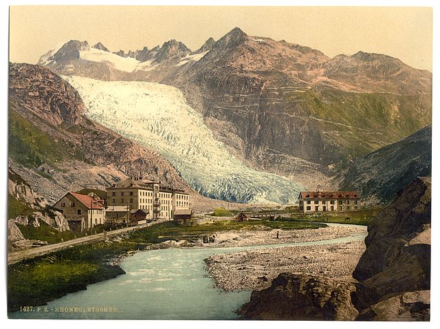 Rhone Glacier, circa 1777