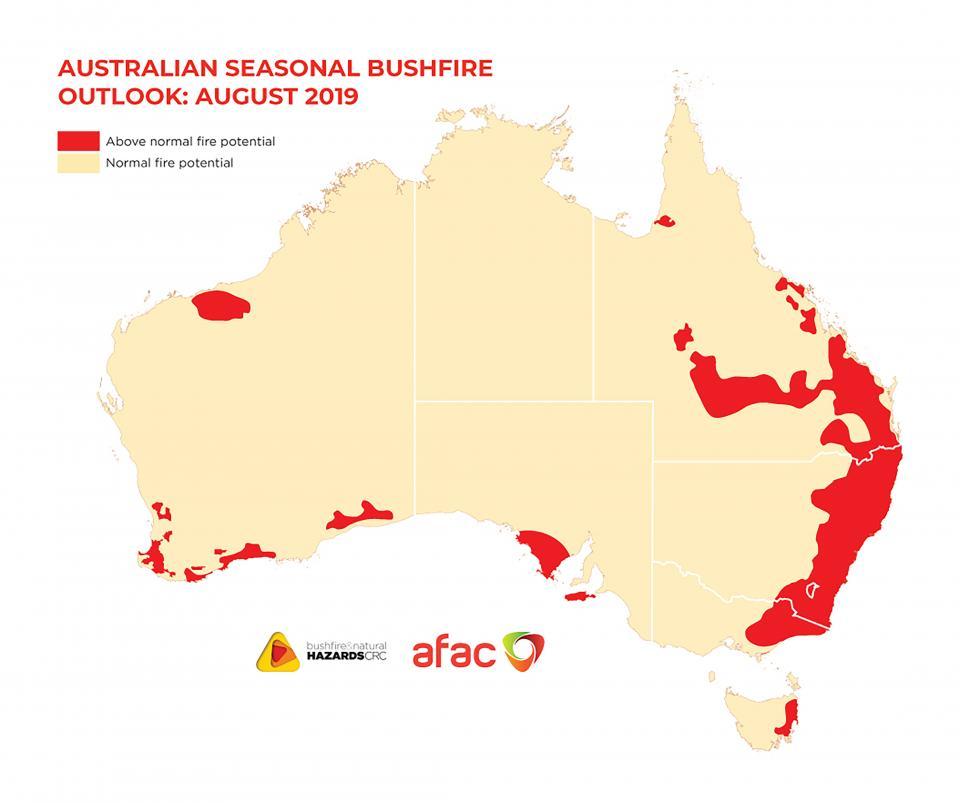 Bushfires outlook