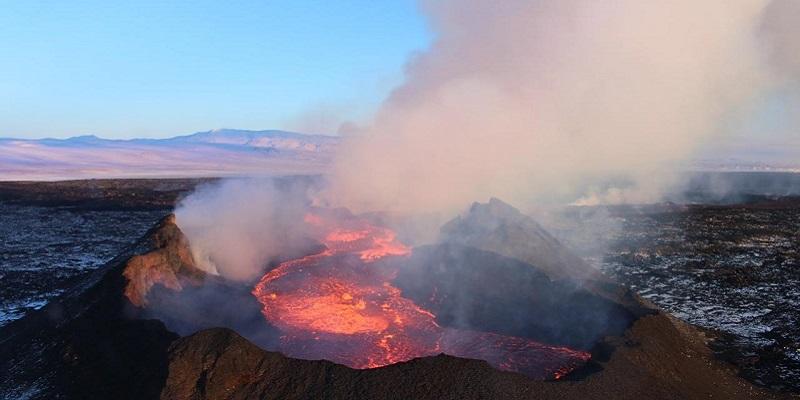 Iceland Volcano, photo.