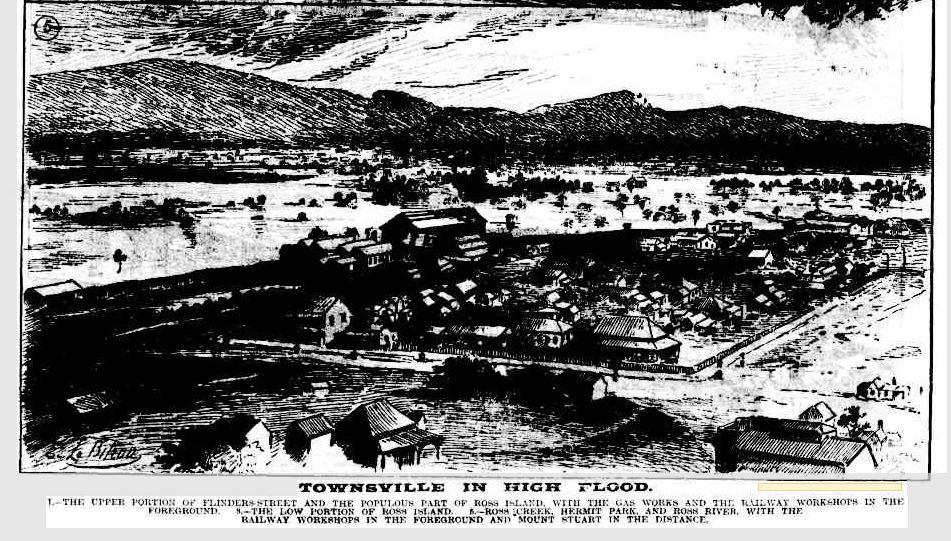 After Rains Fog Rolls Into Madison >> Townsville Floods Again 1881 1892 1946 And 1953 It D Be Climate