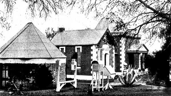 Windsor Observatory, 1906, Photo.