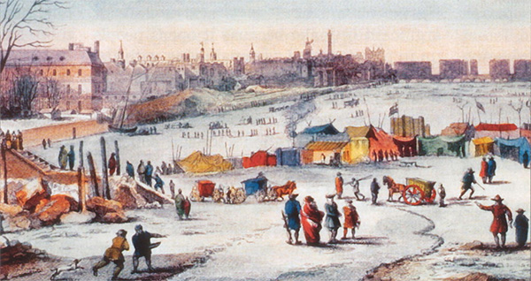 Frost Fair, Painting 1683-84