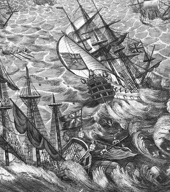 Great Storm of 1703, UK.