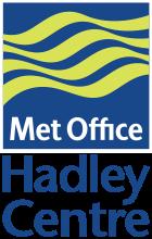 Hadley Meteorology Office, logo, UK.