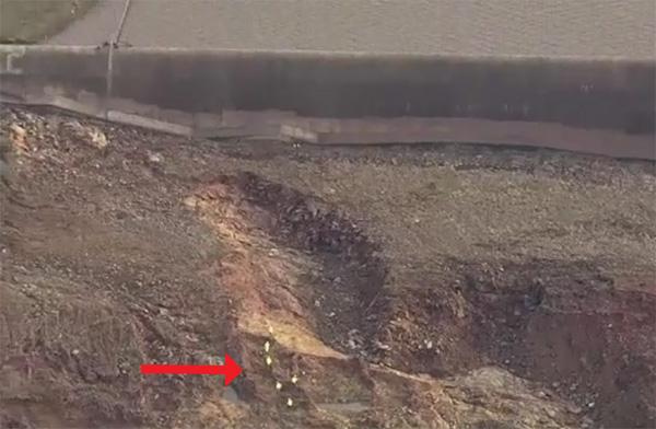 Oroville Dam Spillway erosion
