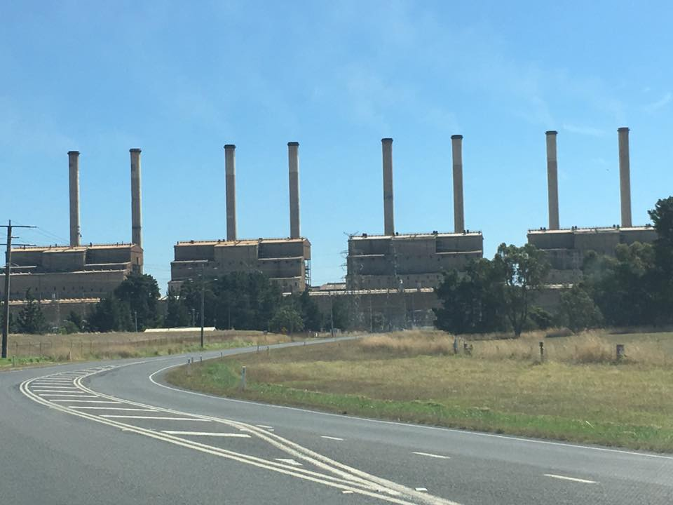 Hazelwood Power Station, closes, March 2017.