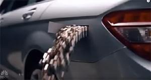 AA class Mercedes, battery powered car.
