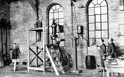 Diesel Generator circa 1892.