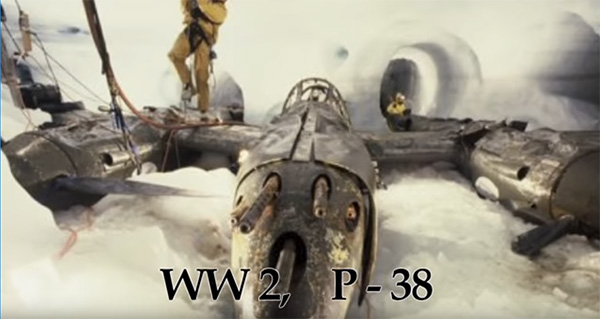 Glacier Girl, WWII, Plane, Greenland, Ice.