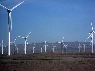 Photo, wind farm, china.