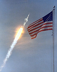 Apollo 11 Launch. Photo. 1969.